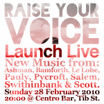 Cover of Raise Your Voice: Launch Live