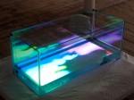 Sam Salem's & Patrick Sanan's interactive installation 'Pond Life'.